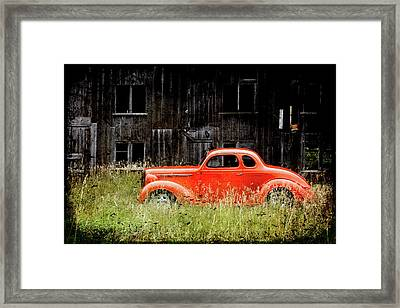 Plymouth Hot Rod Framed Print