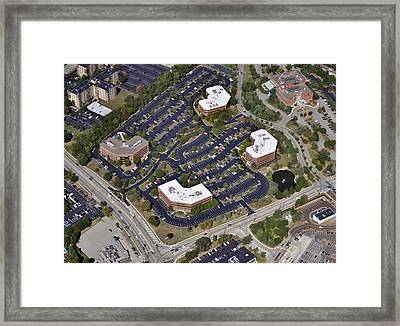 Plymouth Meeting Executive Center Framed Print by Duncan Pearson