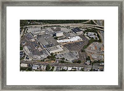 Plymouth Meeting Mall 500 W Germantown Pike Plymouth Meeting Pa 19462 1389 Framed Print by Duncan Pearson