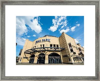 Pnc Park Pittsburgh Pennsylvania Framed Print by Amy Cicconi
