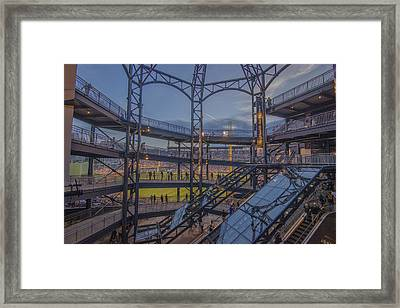 Pnc Park Pittsburgh Pirates D Framed Print by David Haskett