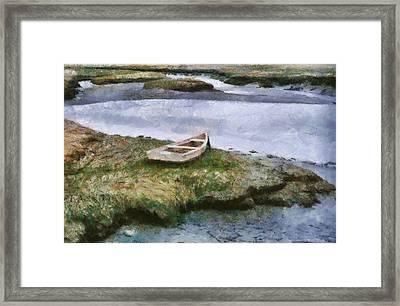 Pnrf0503 Framed Print by Henry Butz