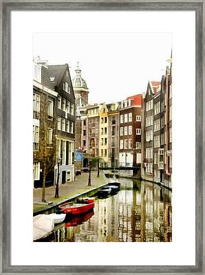 Pnrh1101 Framed Print by Henry Butz
