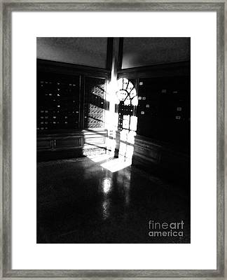 Po Box Light  Framed Print by WaLdEmAr BoRrErO