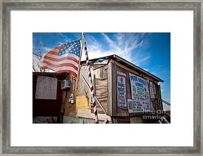 Po Monkeys Lounge Merigold Mississippi Framed Print