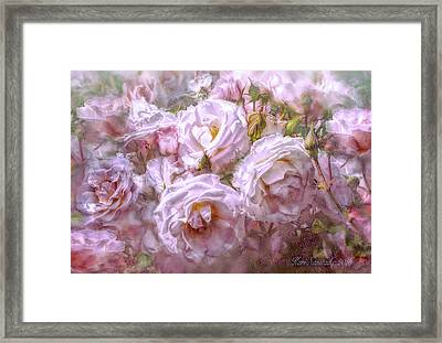 Pocket Full Of Roses Framed Print by Kari Nanstad