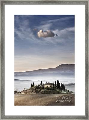 Podere Belvedere 4 Framed Print by Rod McLean