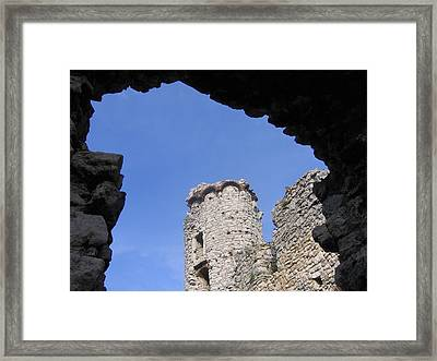Framed Print featuring the photograph Podzamcze Castle Tower by Maciek Froncisz