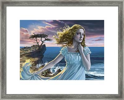 Poe's Lenore Framed Print by Mark Fredrickson
