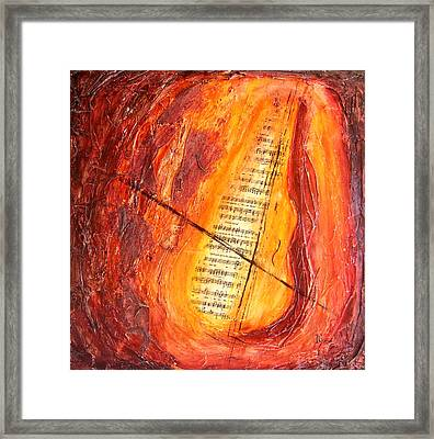 Poesial Visual Framed Print by Ivan  Guaderrama
