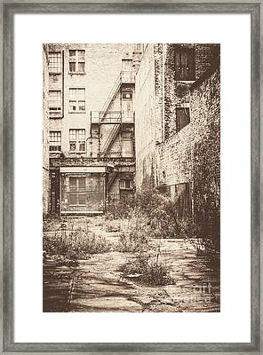 Poetic Deterioration Framed Print