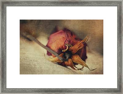 Poetry I Framed Print