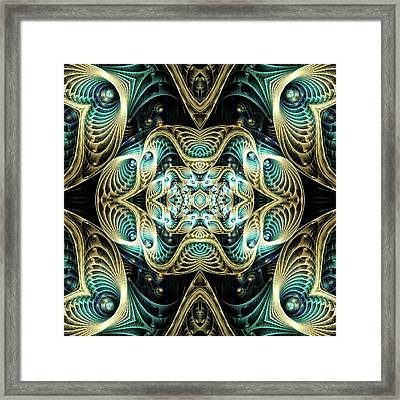 Poetry In Motion Framed Print by Lea Wiggins