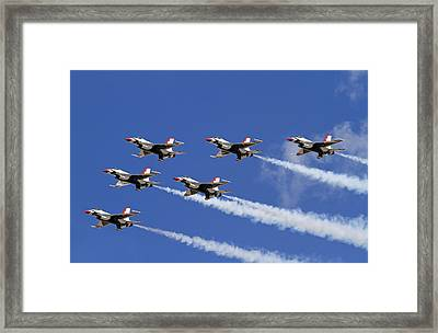 Poetry In The Sky Framed Print by Donna Kennedy