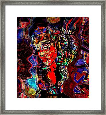 Poetry Music And Art Framed Print by Natalie Holland