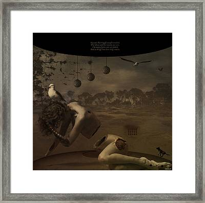 Poetry Of The Absolute Framed Print