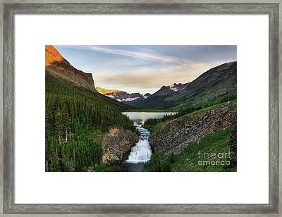 Poia Lake Framed Print by Dave Hampton Photography