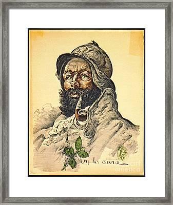 Poilu 1916 Framed Print
