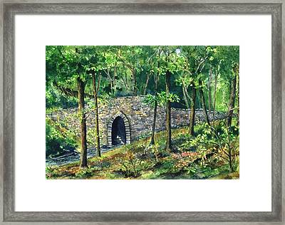 Poinsett Bridge  Framed Print