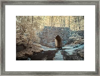 Poinsett Bridge-ir-10 Framed Print by Joye Ardyn Durham