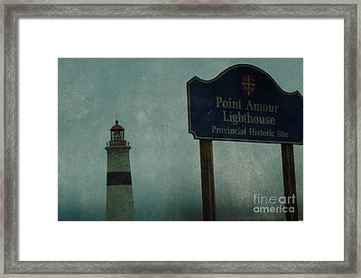 Point Amour Lighthouse, Newfoundland And Labrador, Canada Framed Print by Eye Travel