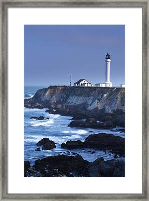 Point Arena Framed Print by Eric Foltz