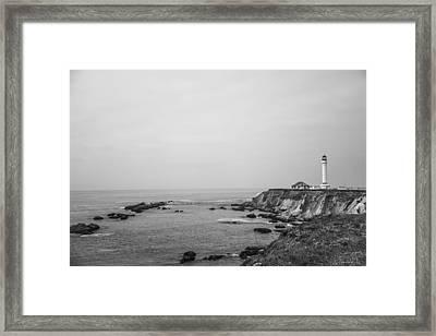 Point Arena Lighthouse Framed Print by Ralf Kaiser