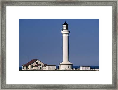Point Arena Lighthouse Framed Print by Soli Deo Gloria Wilderness And Wildlife Photography