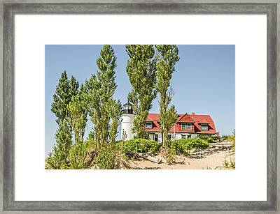 Point Betsie Lighthouse Framed Print