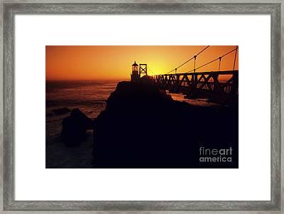 Point Bonita Lighthouse Framed Print by Brent Black - Printscapes