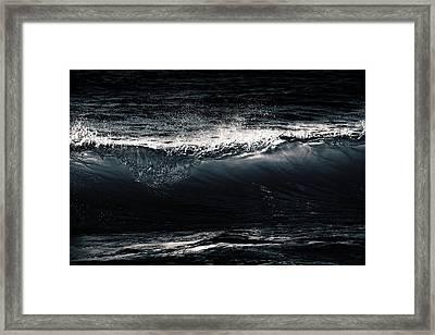 Point Break Framed Print by Iryna Goodall