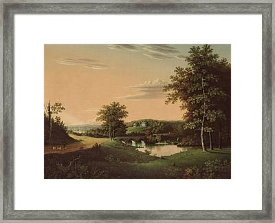 Point Breeze  The Estate Of Napoleon Framed Print