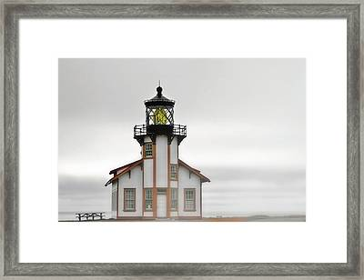 Point Cabrillo Light Station - Mendocino Ca Framed Print