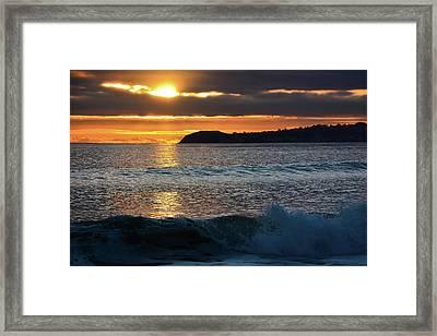 Point Dume Sunset Framed Print