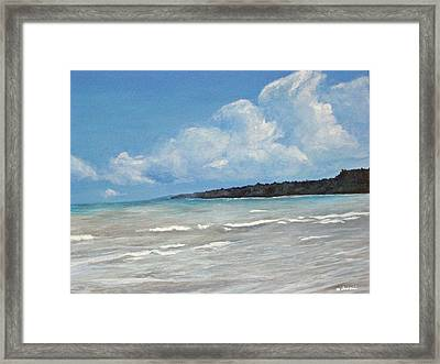 Point Farms Provincial Park Framed Print