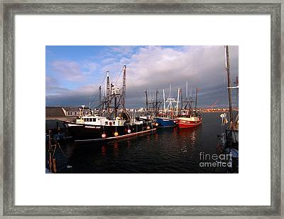 Point Judith Framed Print