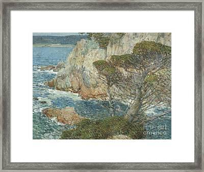 Point Lobos, Carmel, 1914 Framed Print by Childe Hassam