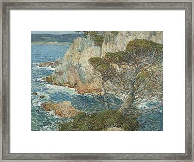 Point Lobos, Carmel Framed Print by Childe Hassam