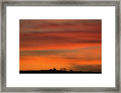 Point Loma Framed Print
