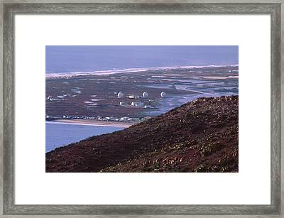 Point Mugu Naval Air Warfare Station Framed Print
