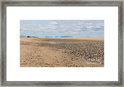 Point Of Ayr Framed Print by Kathryn Bell