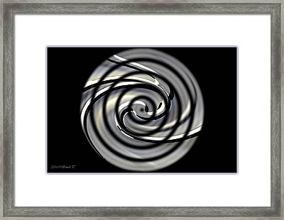 Point Of Illusion Framed Print by Sonali Gangane