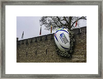 Point Of Impact 1 Framed Print by Steve Purnell