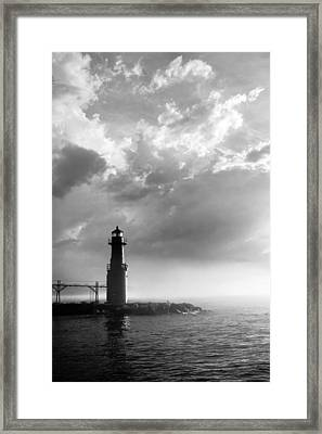 Point Of Inspiration Framed Print by Bill Pevlor