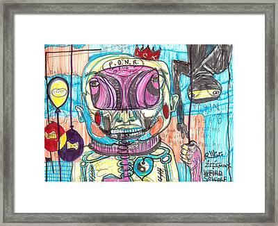 Point Of No Return Framed Print by Robert Wolverton Jr