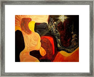 Point Of View Framed Print by Pam Ellis