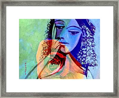 Point Of View. Framed Print