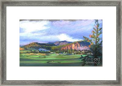 Point Of View Framed Print by Shirley Leswick