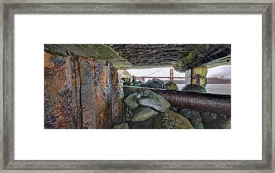 Framed Print featuring the photograph Point Of View by Steve Siri
