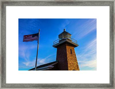 Point Pinos Lighthouse Framed Print by Garry Gay